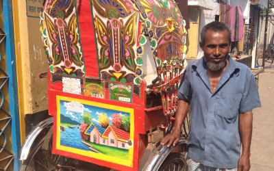 Behind the scenes with Muhammad, Bangladeshi Rickshaw Puller