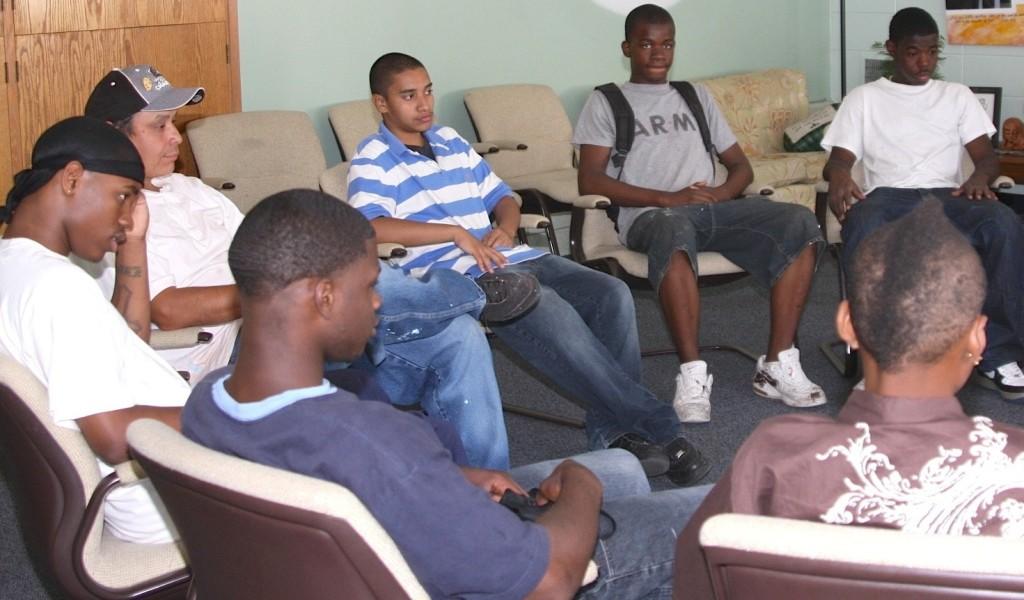 PBMR 2013 members in peacemaking circle copy 2