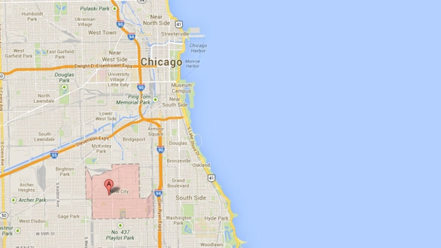Chicago's Back of the Yards neighborhood