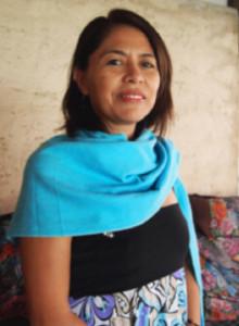 Alva Batres, award-winning journalist and human rights activist. Photo courtesy of Association for Leadership in Guatemala.