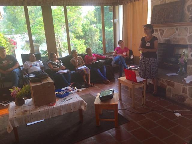 Flor teaches at ALG Guatamala 2015