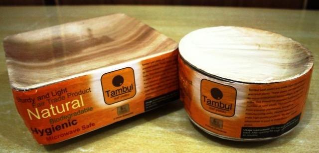 Tamul Plates made at Arindam's factory in Assam