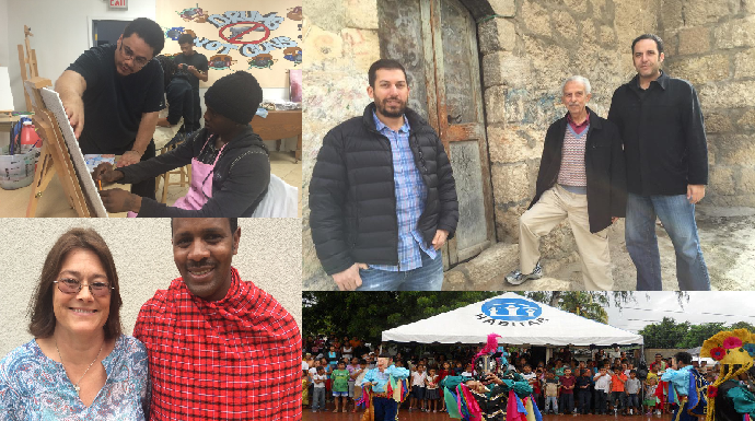 Some of our most popular Job Stories today featuring: (clockwise from top left) the PBMR Center in Chicago, Telos Group in Jerusalem, Habitar in Nicaragua, and Wantay Irmakesen of AID Tanzania.