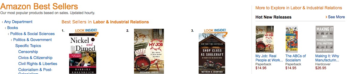 My JOB is #1 New Release and the #2 Best Seller in its Category!